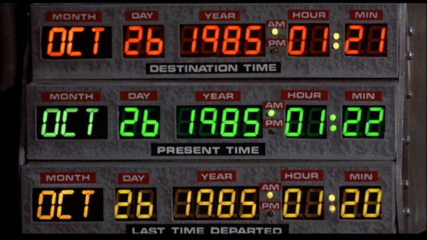 Back to the Future - Universal Studios