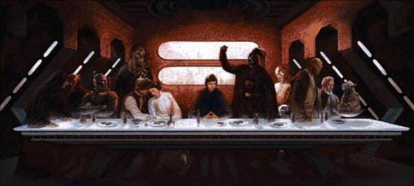 Star Wars Last Supper - Avinash Arora
